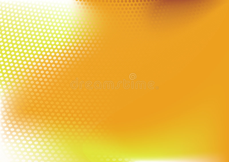 Abstract techno background. Composition of dots and curved lines--great for backgrounds, or layering over other images