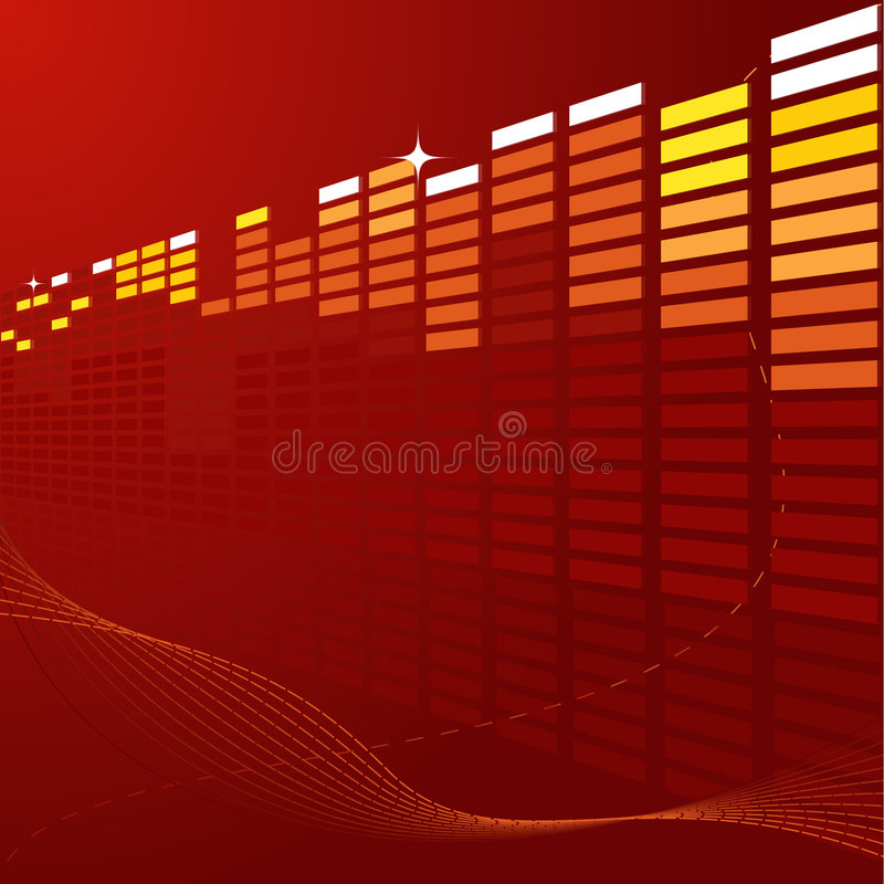 Download Abstract techno background stock vector. Illustration of techno - 7326909