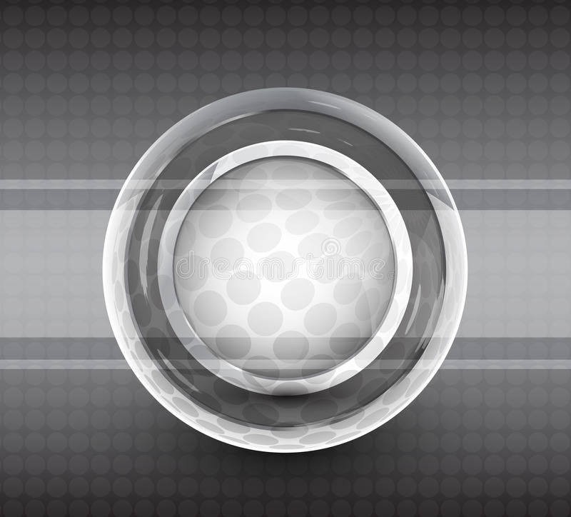 Abstract techno circle background. Vector illustration for your design stock illustration