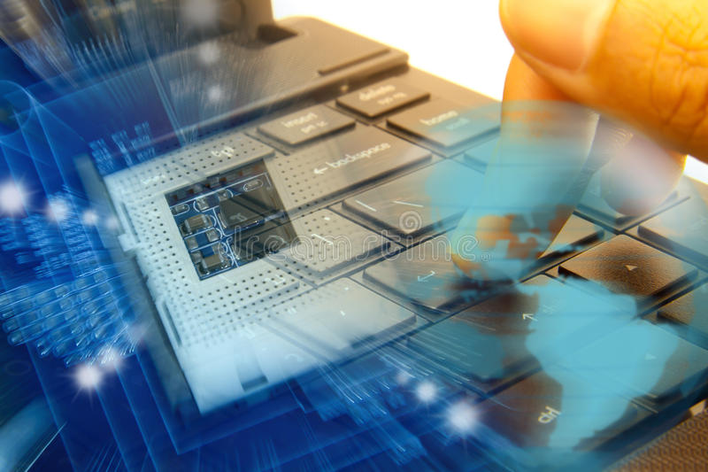Download Abstract Technology. Stock Photography - Image: 23805112