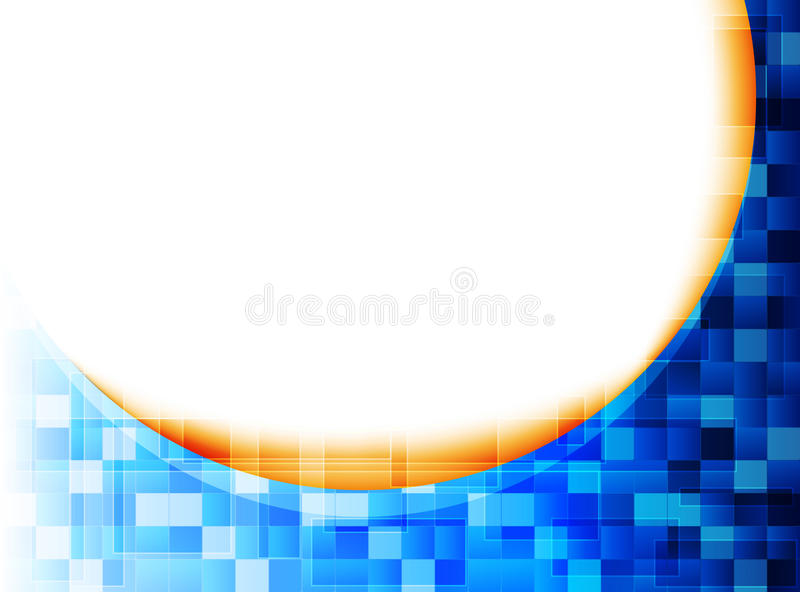 Abstract technology background. For your text royalty free illustration