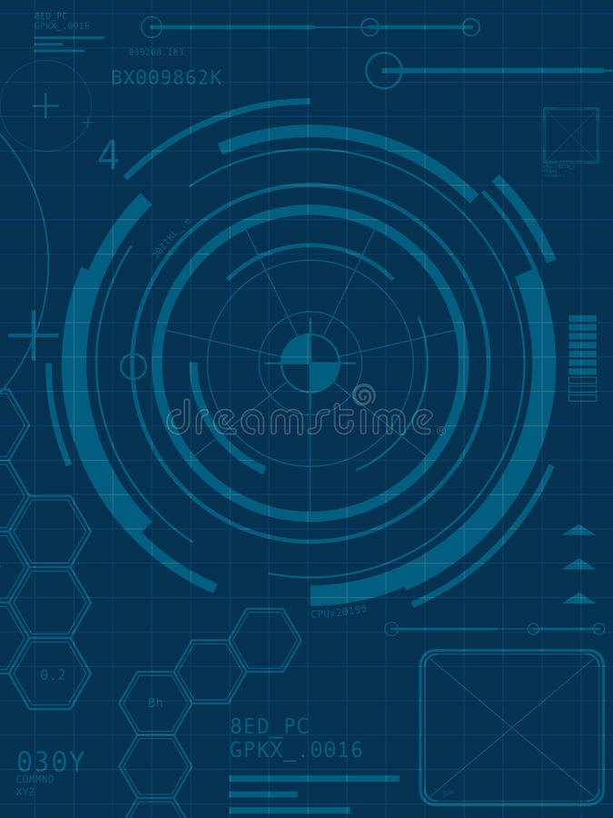 Download Abstract Technology Background Stock Vector - Image: 24628544