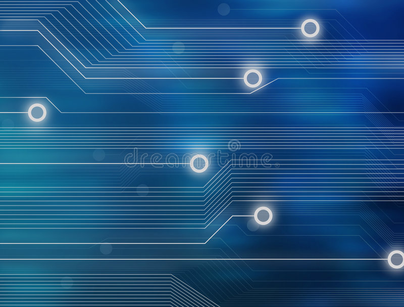 Download Abstract Technology Background Royalty Free Stock Images - Image: 5805679