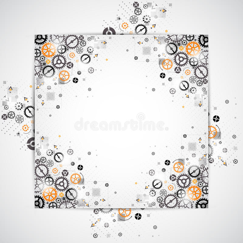 Download Abstract Technology Background. Stock Vector - Illustration: 43483463
