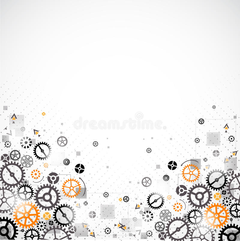 Download Abstract Technology Background. Stock Vector - Image: 43483500