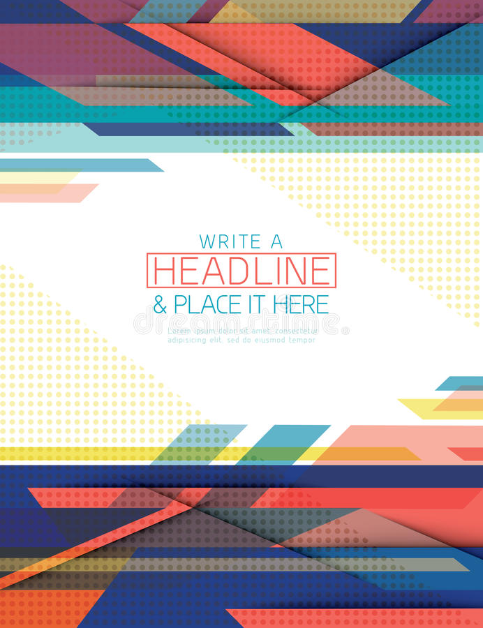 Abstract technology Background design template vector illustration