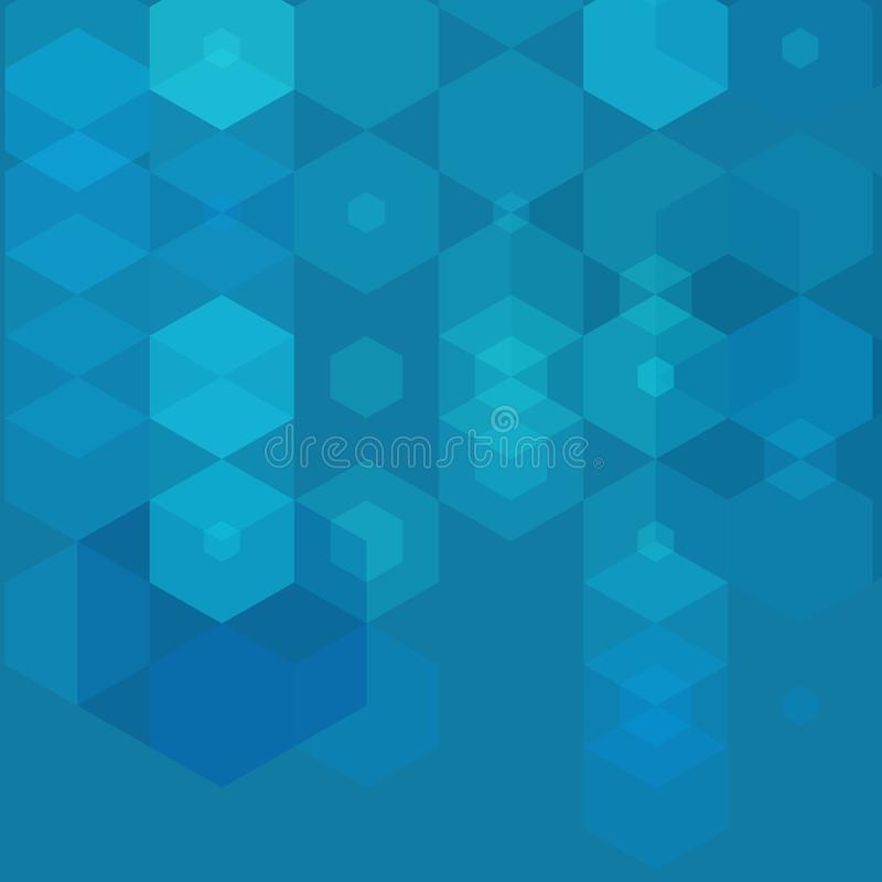 Abstract technology background with hexagons. vector back ground. eps 10 royalty free illustration