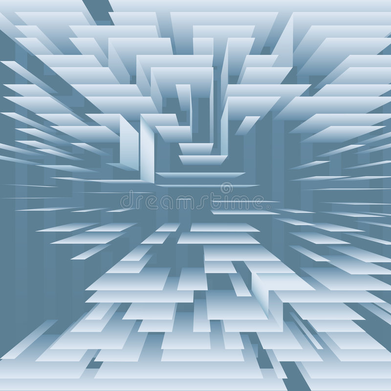Free Abstract Technology Levels Layers On Blue Royalty Free Stock Images - 7720379