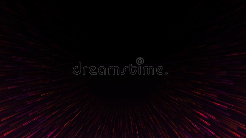 Abstract technology vector background,burst cyberspace tunnel background,innovation computer background. Aura, stream, connect, network, signal, data, big vector illustration