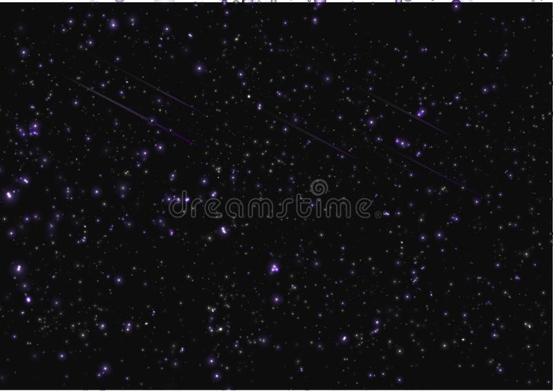 Download Abstract Template Background Vector Texture Galaxy Space Star Blue Dark Night Light Glow Nature Stock