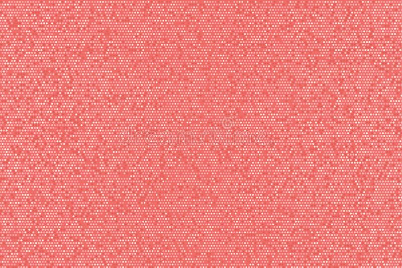 Abstract tender red glittering dotted background. Abstract tender red glittering dotted horizontal background. Pop art retro girlish pink texture for wallpaper vector illustration
