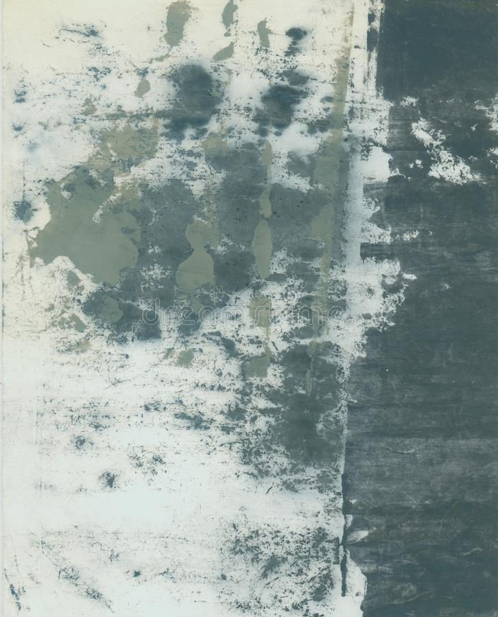 Free Abstract Textural Paper Arts Collage Painting With Grey Tones Royalty Free Stock Photography - 151239317