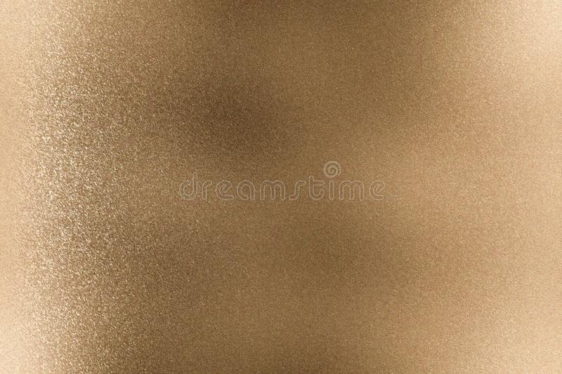Abstract texture background, brown rough metallic wall stock illustration