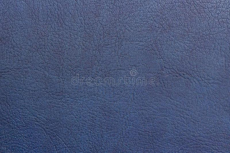 Abstract texture background copy space leather painted blue. Abstract texture background copy space natural leather painted blue royalty free stock image