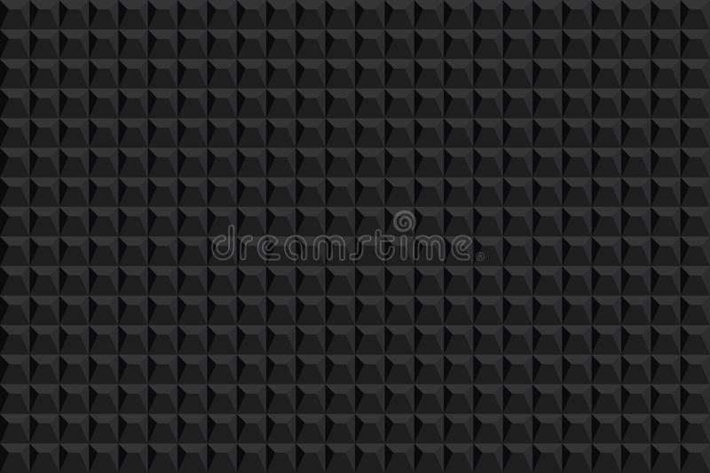 Abstract texture background. Seamless pattern. Vector background. Black texture. Graphic modern pattern royalty free illustration