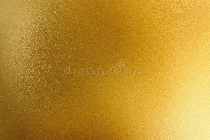 Abstract texture background, shiny gold metal wall stock illustration