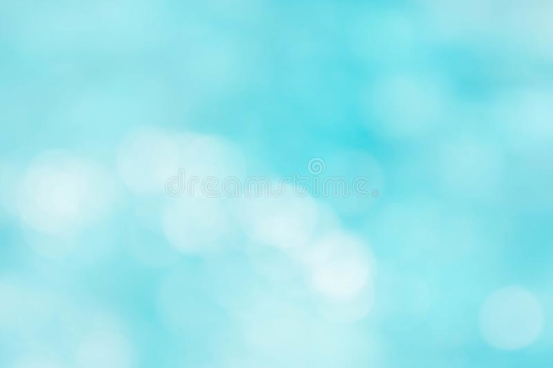 Abstract texture blue and white color mix and bokeh lighting background stock photo