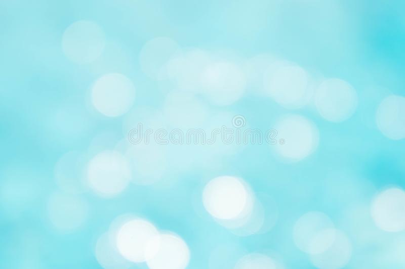 Abstract texture blue and white color mix and bokeh lighting background stock images