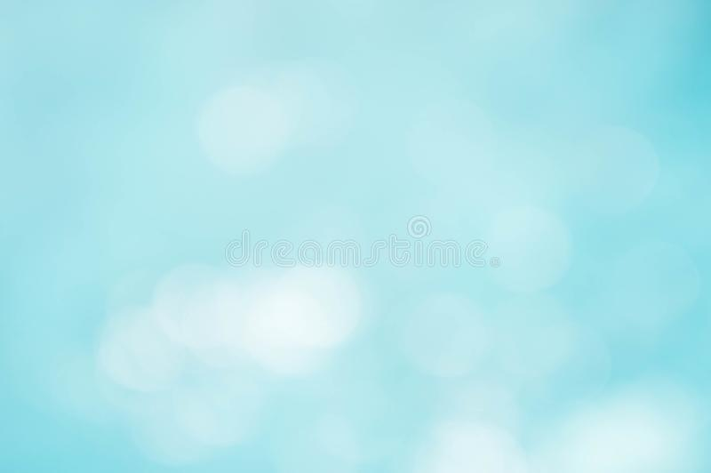 Abstract texture blue and white color mix and bokeh lighting background royalty free stock image