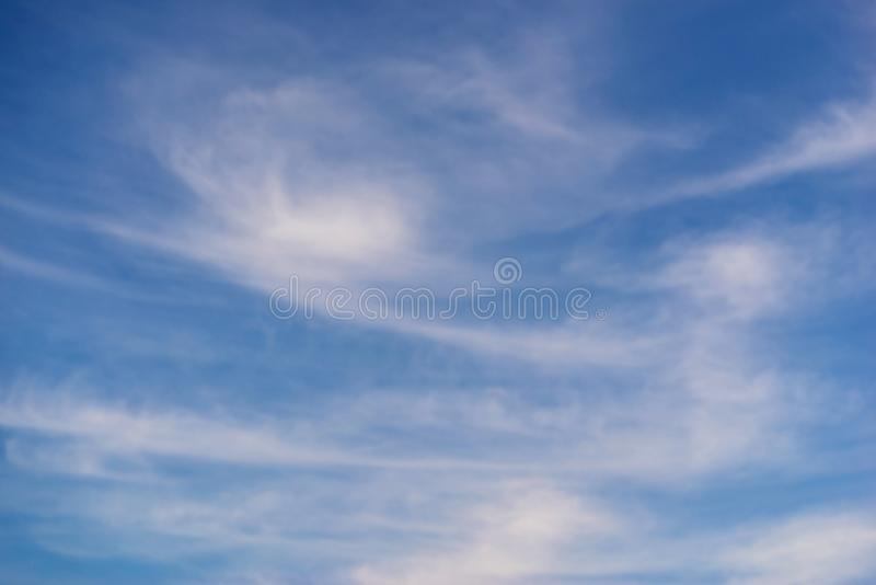 Abstract texture of clouds royalty free stock photography