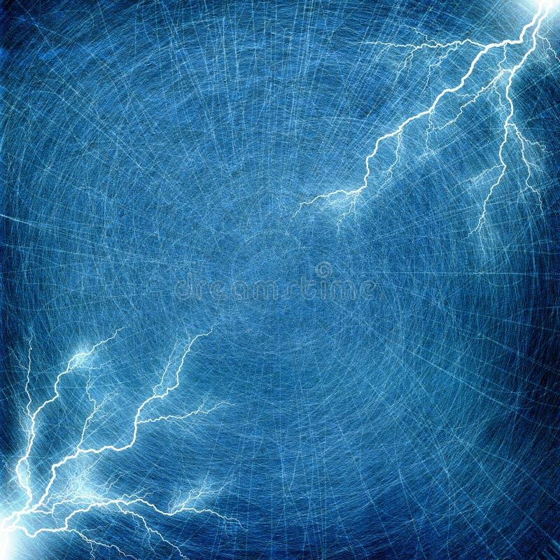 Abstract Texture, Lightning Background stock illustration