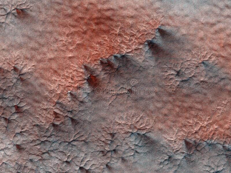 Abstract Texture On Mars Free Public Domain Cc0 Image