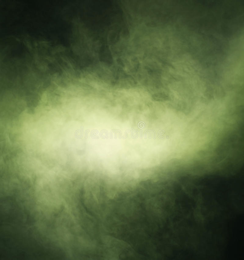 Free Abstract Texture Of Green Smoke On A Black Background Stock Photos - 34790623