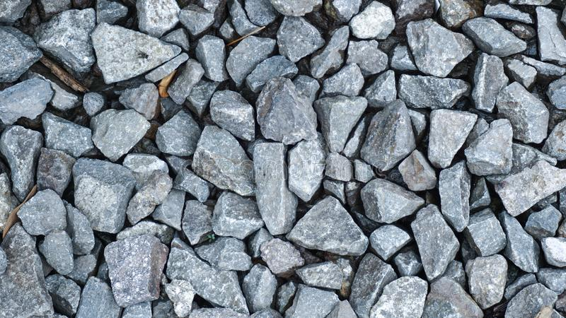 Abstract texture of the pile of grey stone royalty free stock photo