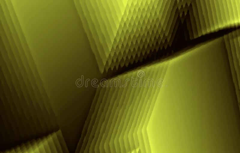 Textured green background. Different form s on a image. Oil paint effect. royalty free stock photography