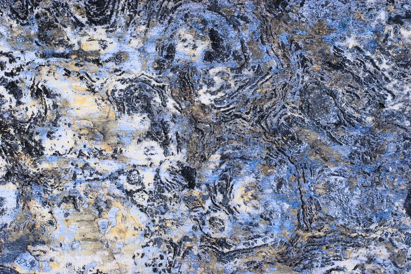 Abstract and. Texture of wall formed a beautiful colour pattern and design stock photo