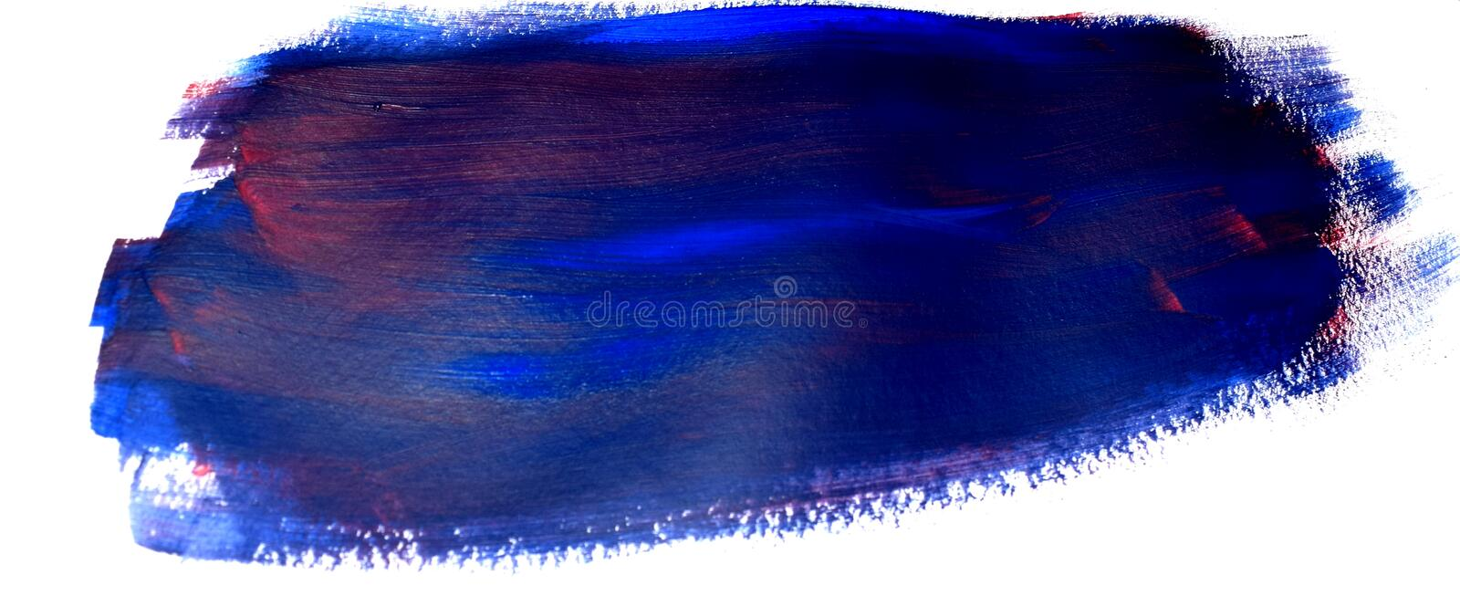 Abstract texture on white background. Acrylic pattern of bright colors. stock images