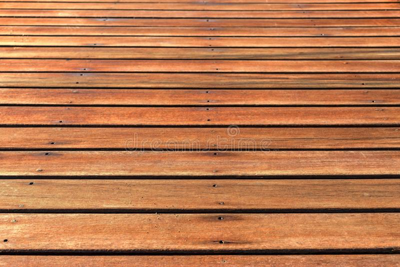Abstract texture of wooden boards. With an attrition for a background and for wallpaper royalty free stock photo