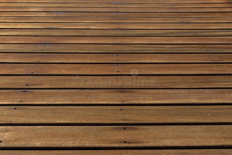 Abstract texture of wooden boards. With an attrition for a background and for wallpaper stock photo