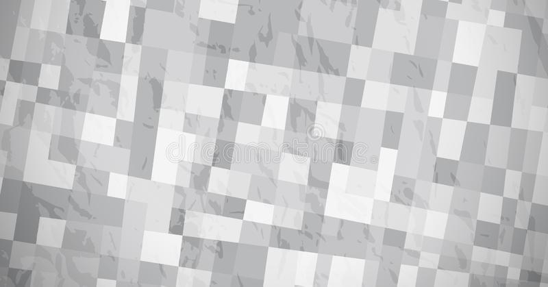 Abstract background with grey rectangles. Abstract textured background with grey rectangles. Banner design. Beautiful futuristic dynamic geometric pattern design royalty free illustration