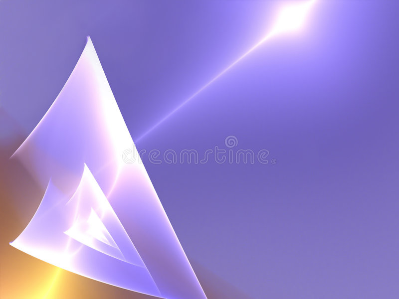 Abstract textured fractals stock illustration