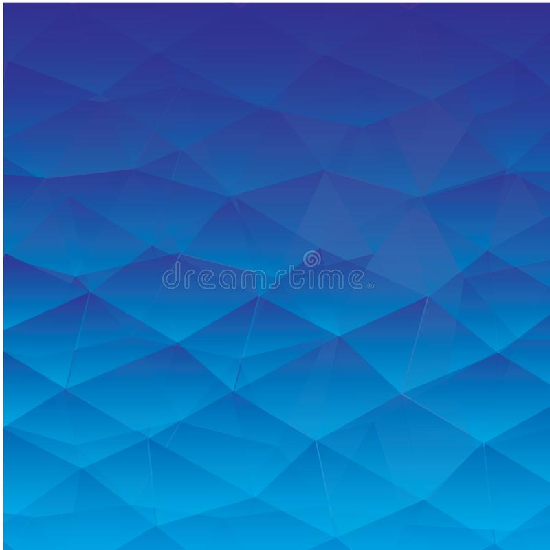 Abstract textured polygonal background. - Vector stock illustration
