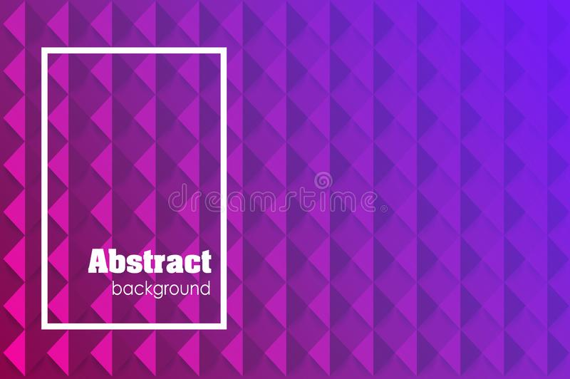 Abstract textured polygonal background. Vector blurry triangle background design royalty free illustration