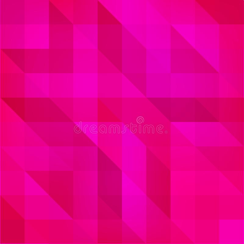 Abstract textured polygonal background. Vector blurry triangle background design. Bright purple polygonal background. vector illustration