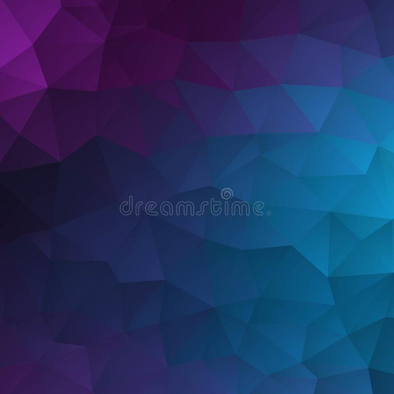 Abstract textured polygonal background. Vector blurry triangle background design. eps 10 royalty free illustration