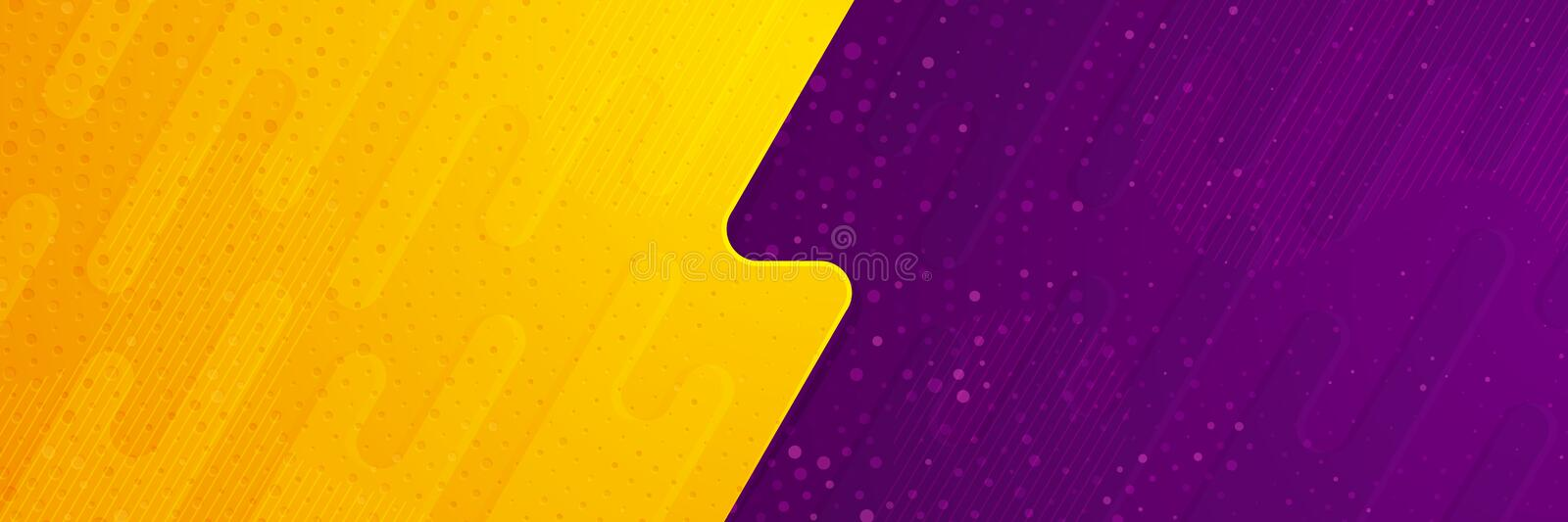 Abstract textured vector background with orange and purple color. can us for banner, posters, cover, promotional advertisement, stock illustration