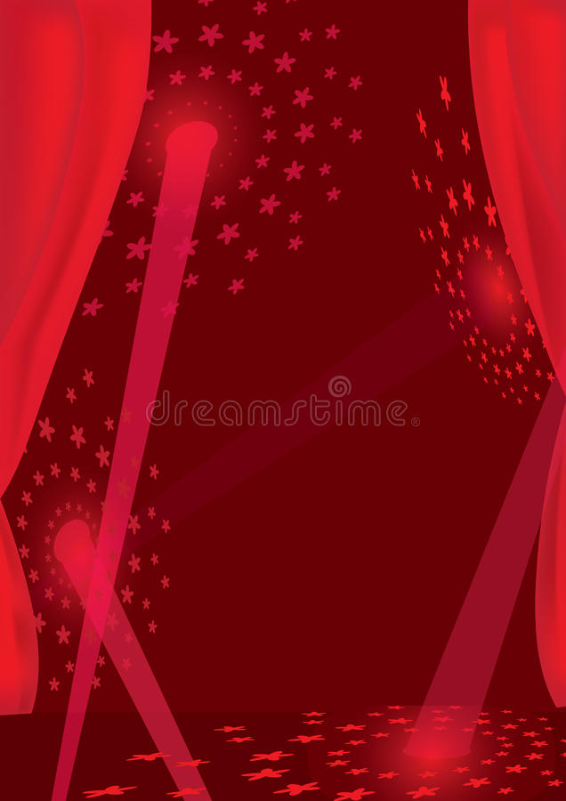 Download Abstract Theater Flower Ray_eps Stock Vector - Image: 19439321