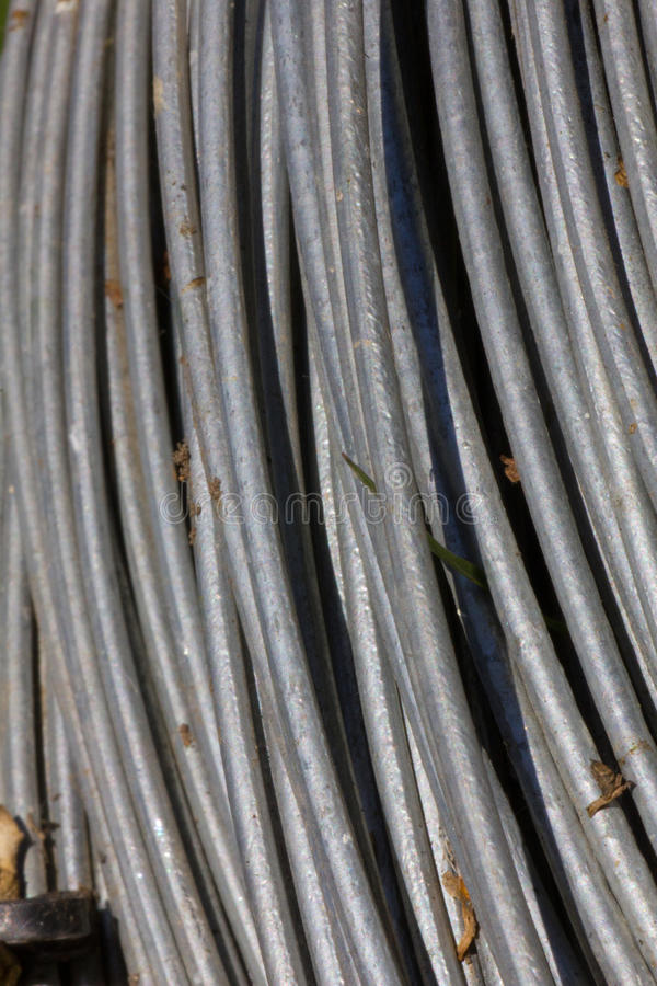 Abstract of a thick wire stock photo. Image of abstract - 41072976