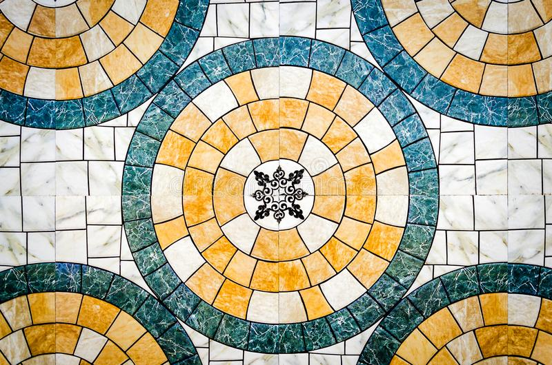 Abstract tile pattern background royalty free stock image