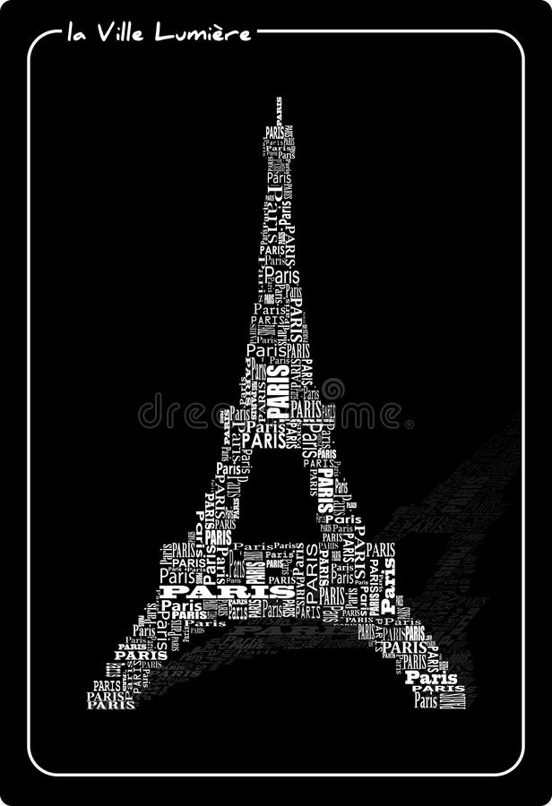 Download Abstract tour eiffel stock vector. Image of historic - 22553415