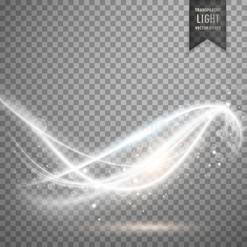 abstract transparent light effect royalty free illustration