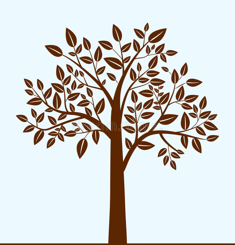 Download Abstract tree stock vector. Image of botany, landscape - 18007167