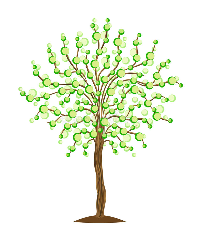 Download Abstract tree stock vector. Image of botanical, life - 27463063