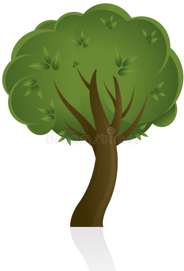 Download Abstract tree design stock vector. Image of concept, ecology - 14479007