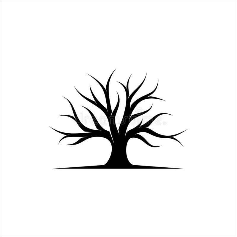 Free Abstract Tree Logo Design, Root Vector Illustration Royalty Free Stock Photos - 130873988