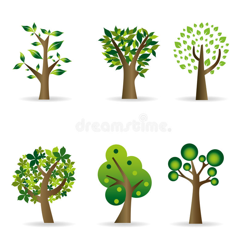 Download Abstract trees stock vector. Image of autumn, growth - 24497681